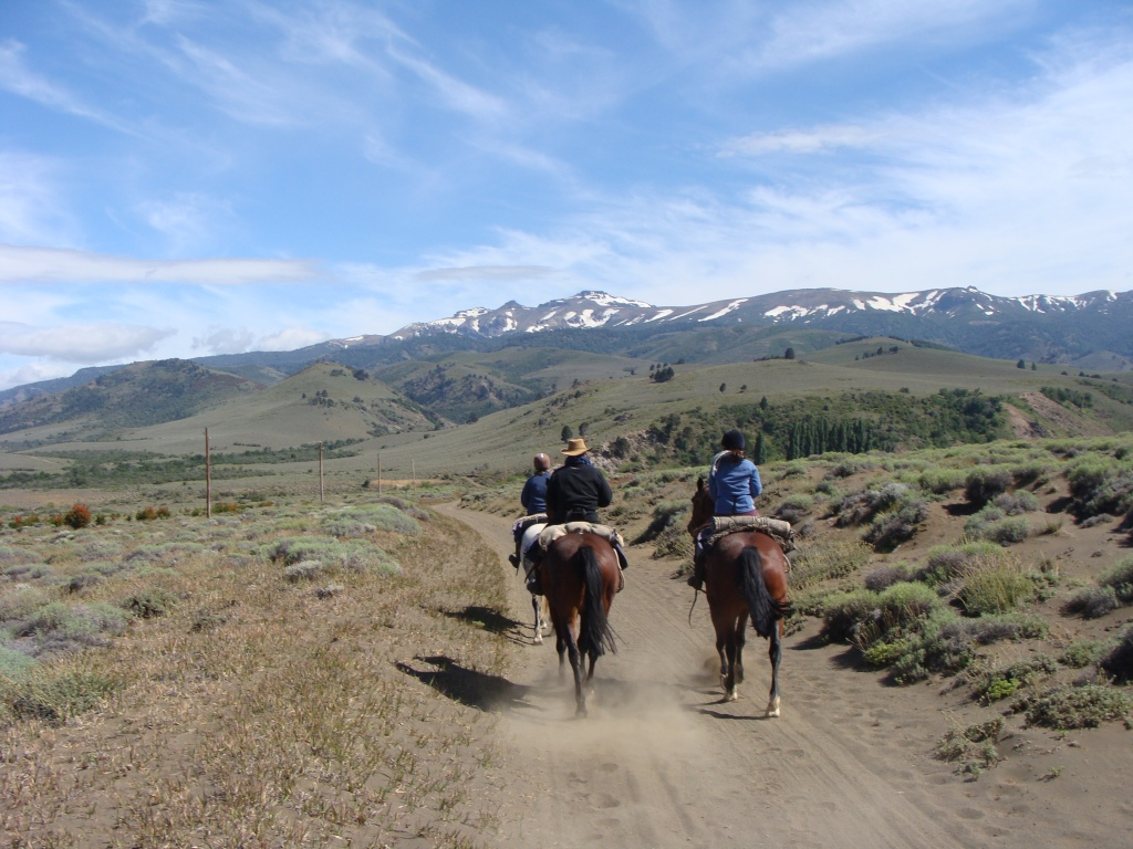 across the andes on horseback