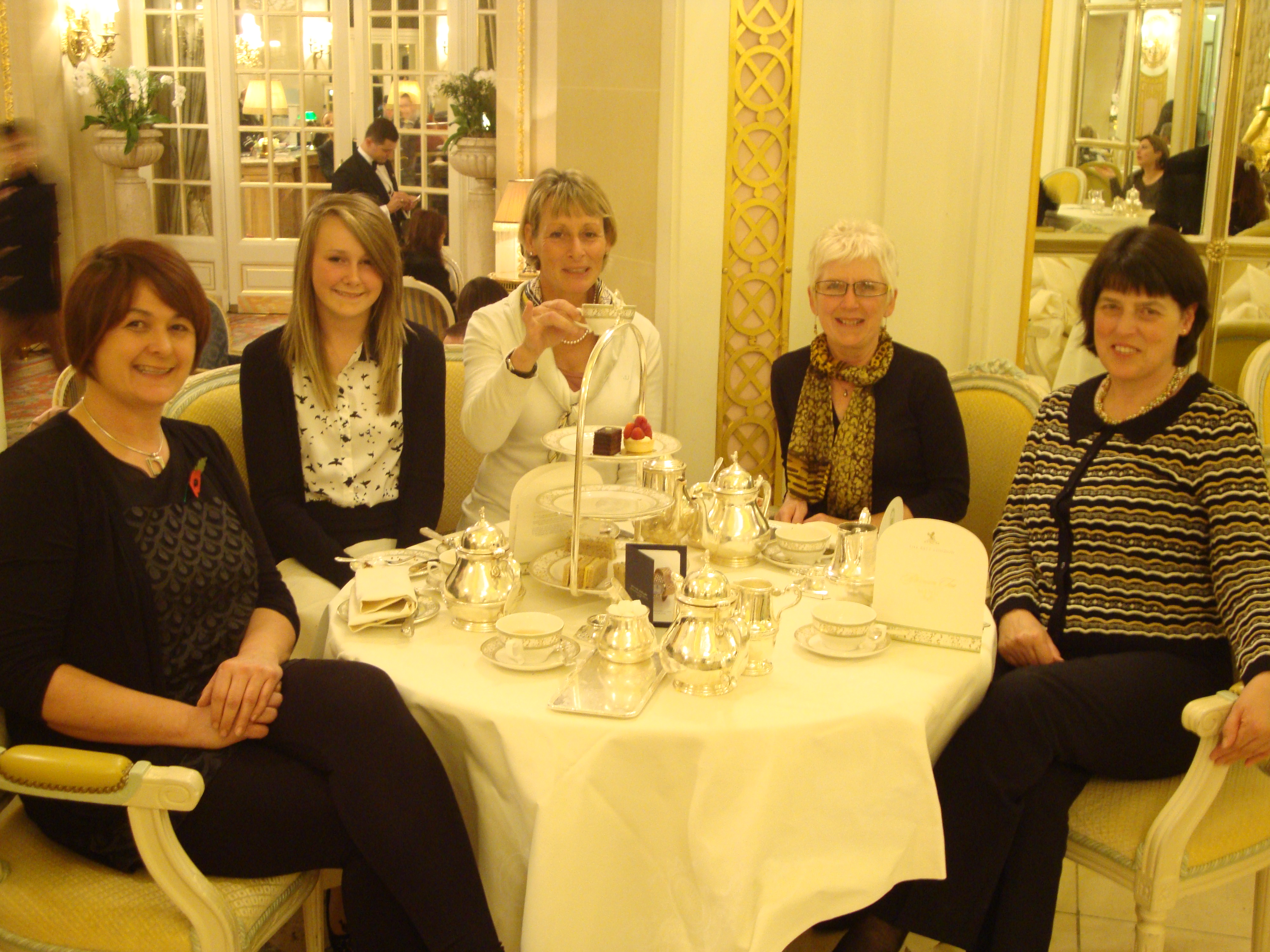sandwiches and cakes - tea at the ritz with mary king