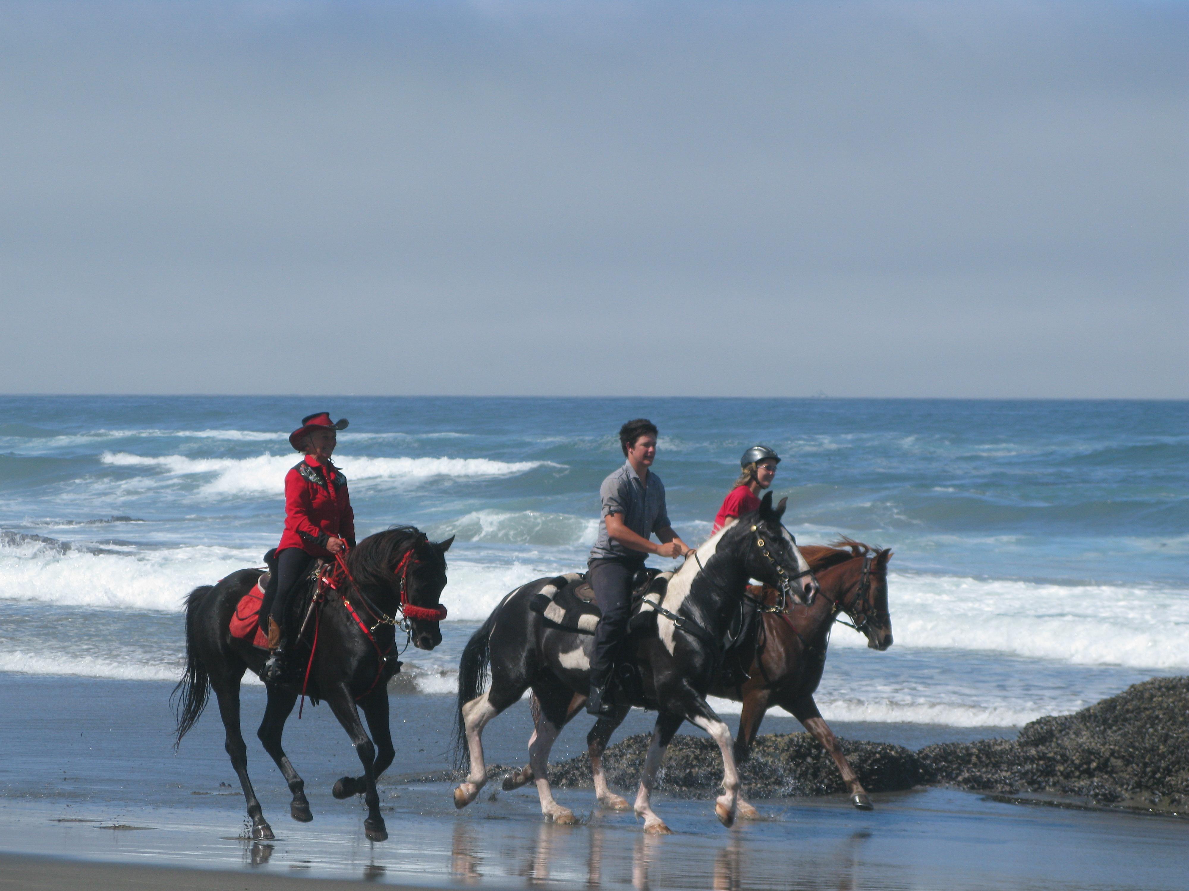 beach riding in california