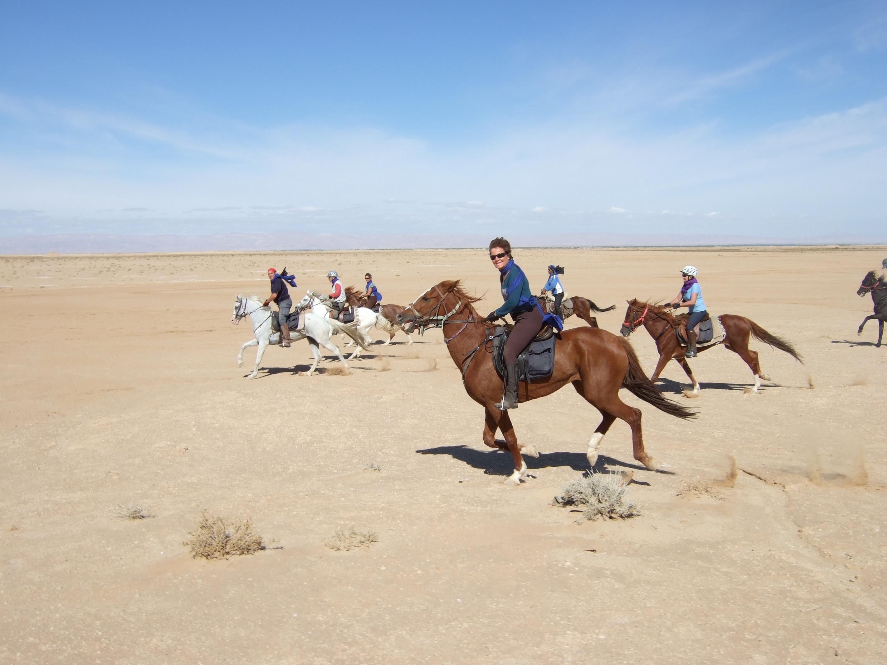 riding in tunisia