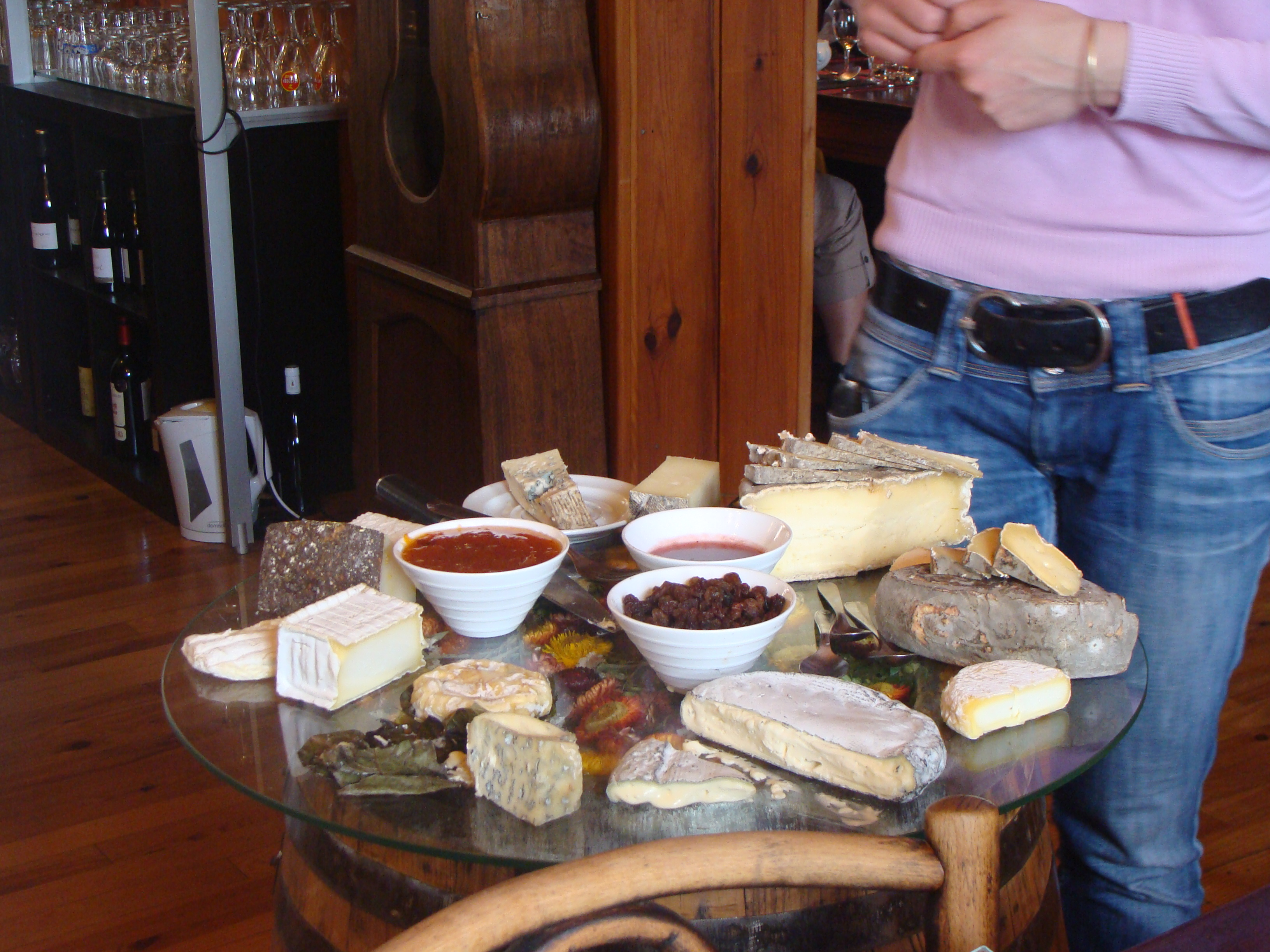 A mighty cheeseboard