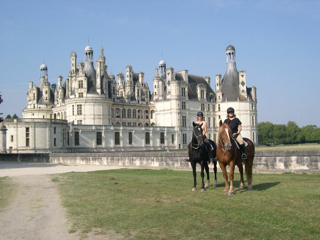 Every Chateaux you will see is different when riding in the Loire