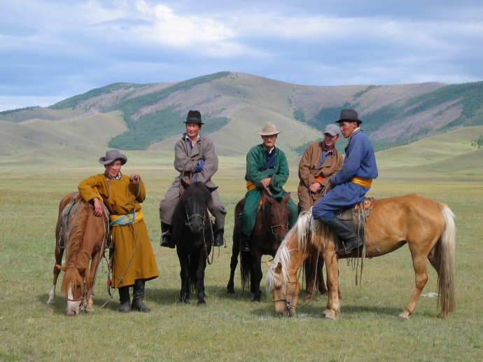 A riding expedition to somewhere like Mongolia is life-altering!