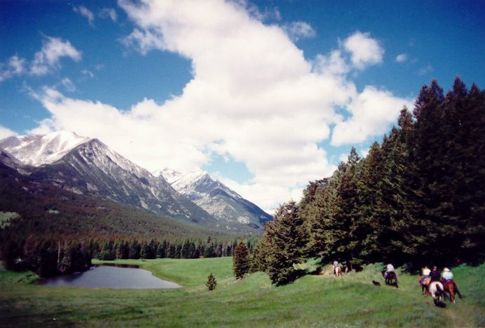 Spectacular vistas at Sweet Grass