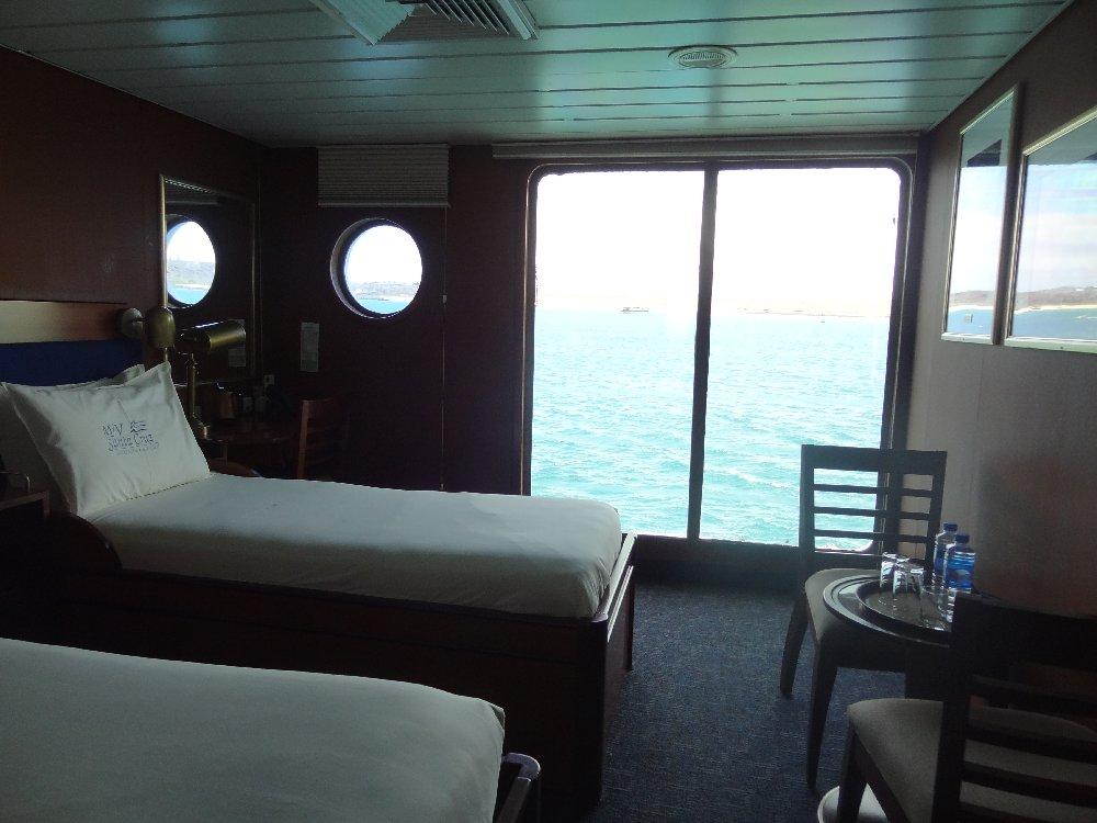 Abbie's Cabin on board Santa Cruz