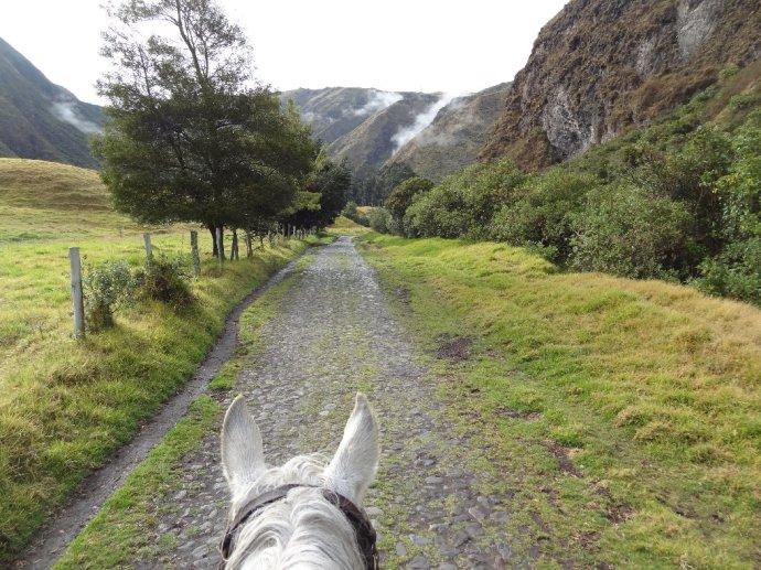 Riding to the Condor House