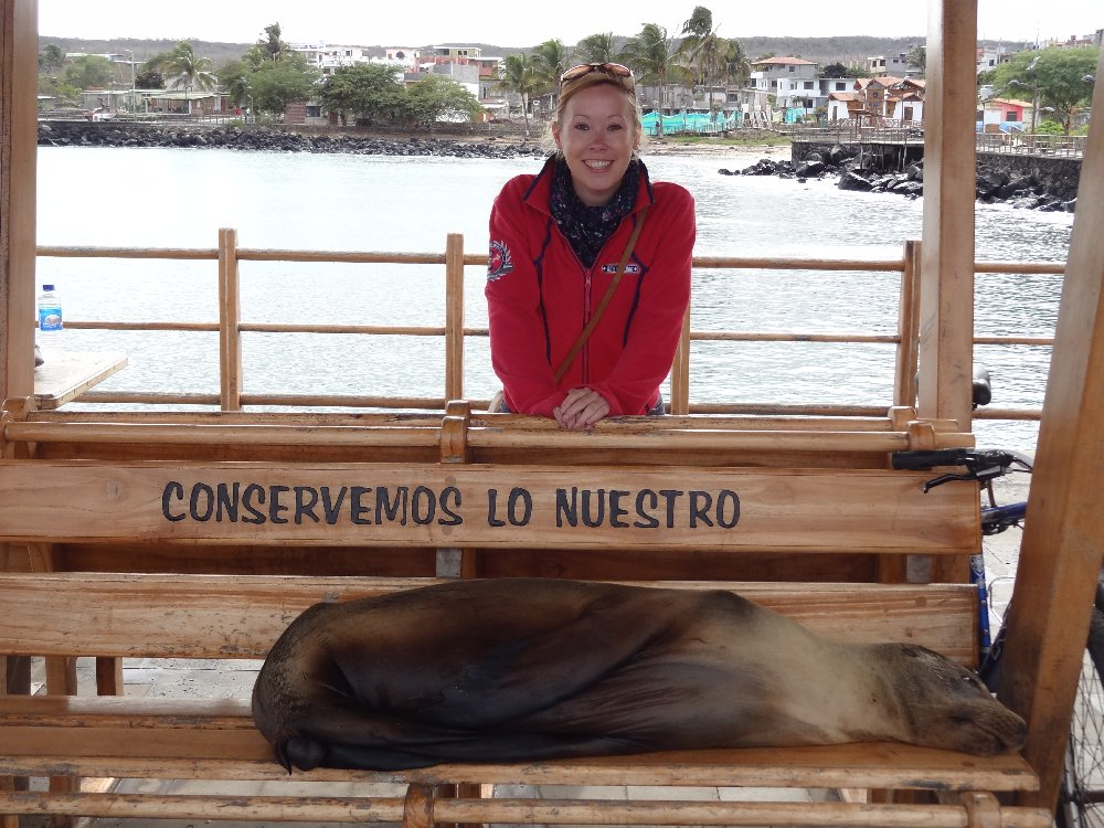 Saying goodbye to the Galapagos Islands