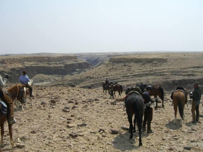 Exploring Canyons not previously ridden through