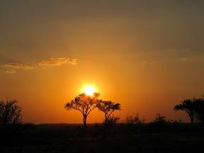 Beautiful Sundowners at Limpopo