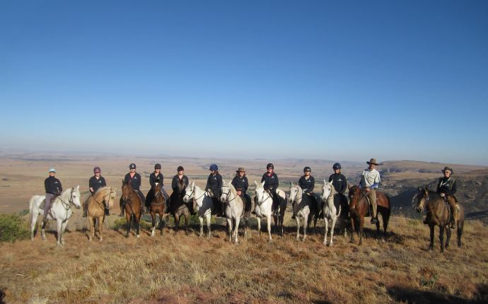 The World Horse Welfare Challenge group at Moolmanshoek
