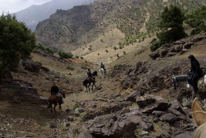 The Toubkal Trail is exciting and exhilarating