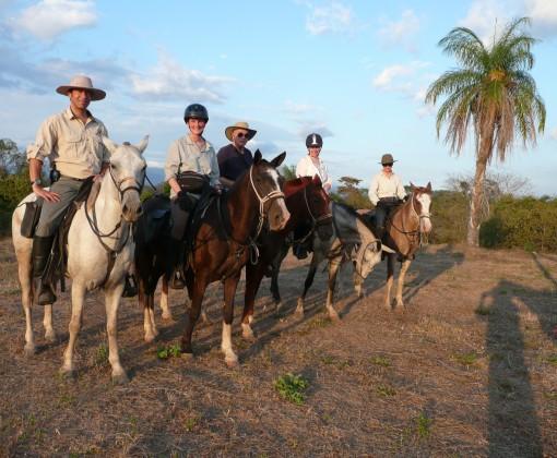 Beautiful scenery and wonderful horses in Costa Rica