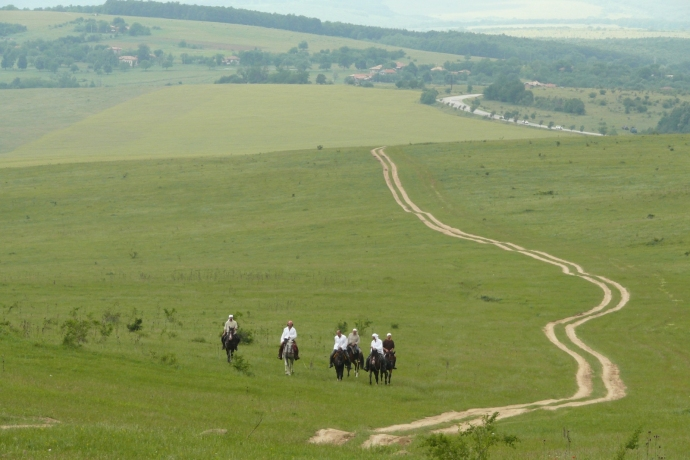 You can ride almost endlessly in Bulgaria