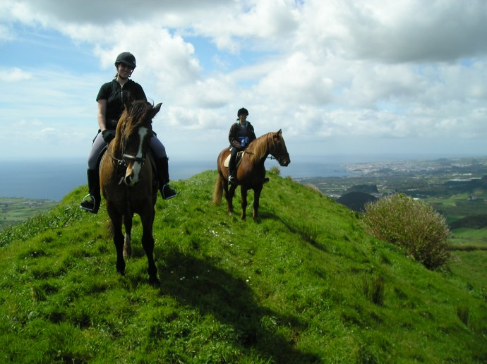 The food, hosts, horses and scenery are fantastic in the Azores