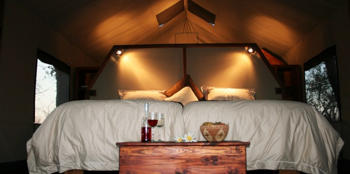 The accommodation is a highlight at Motswiri