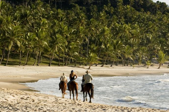 Brazil offers beautiful beach riding