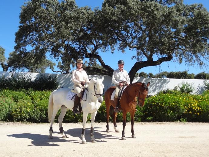 monte velho, Abbie in Monte Velho – Portugal 2015, In The Saddle